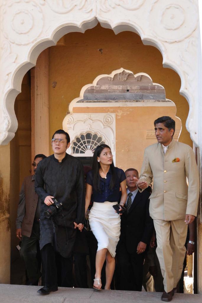 Королева Бутана Джецун Пема