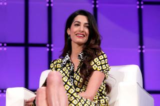 Амаль Клуни дала первое интервью о муже и детях