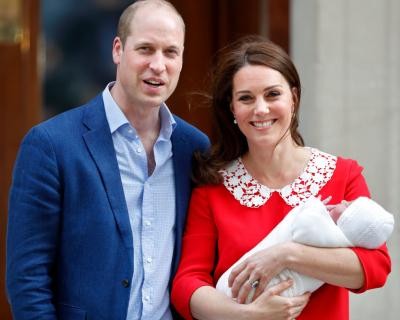 Кейт Миддлтон и принц Уильям назвали имя новорожденного малыша-430x480