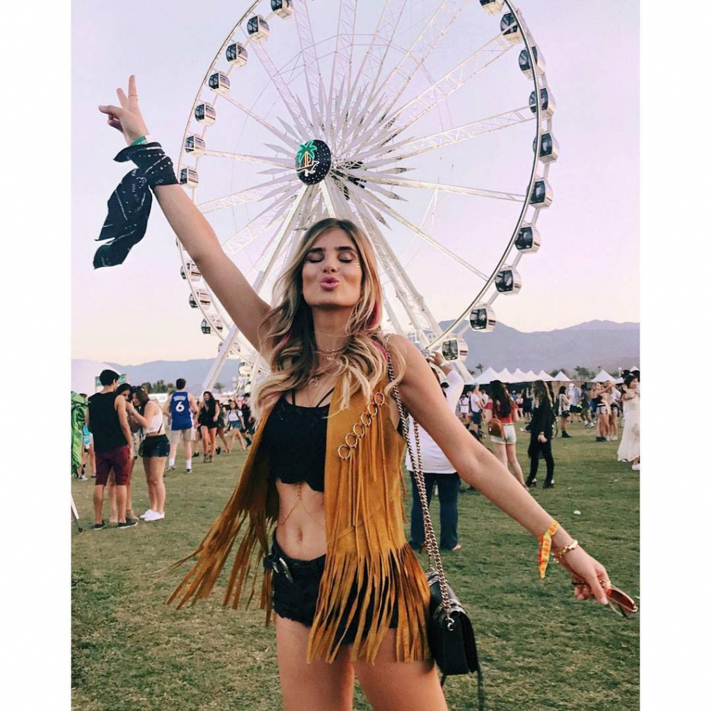 Бохо-шик на фестивале Coachella