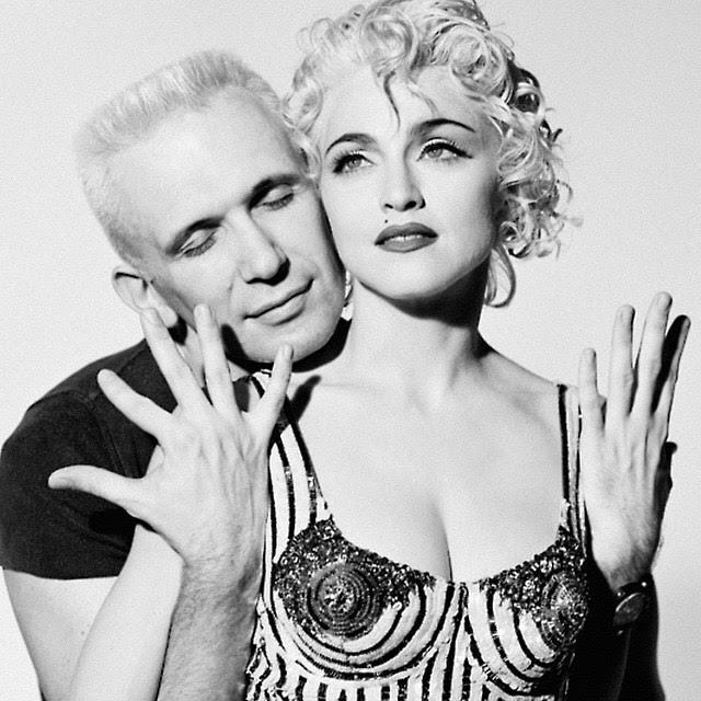 Мадонна и Жан-Поль Готье