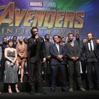 «Мстители: Война бесконечности»: красная дорожка кинопремьеры