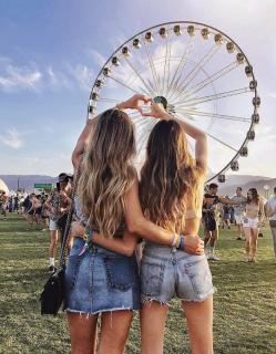 Look в стиле Coachella