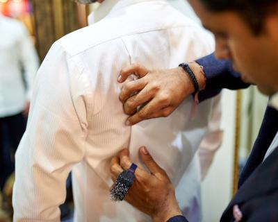 Идеальная белая рубашка — купить или сшить?-430x480