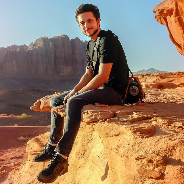 Принц ИорданииХуссейн бин Абдулла фото