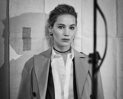 Дженнифер Лоуренс снялась в рекламной кампании Dior-430x480