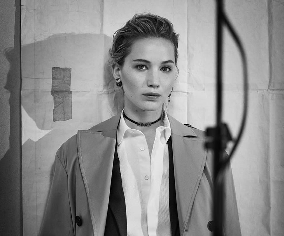 Дженнифер Лоуренс снялась в рекламной кампании Dior-320x180