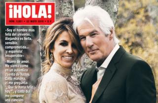 68-летний Ричард Гир женился в третий раз