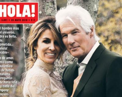 68-летний Ричард Гир женился в третий раз-430x480