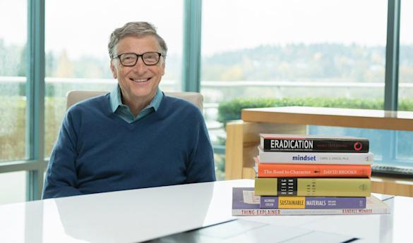 5 книг на лето по рекомендации Билла Гейтса фото