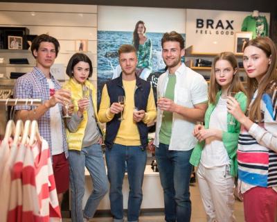 Фотоотчет: как прошло празднование 130-летия бренда BRAX-430x480