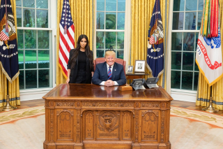 Ким Кардашьян и Дональд трамп