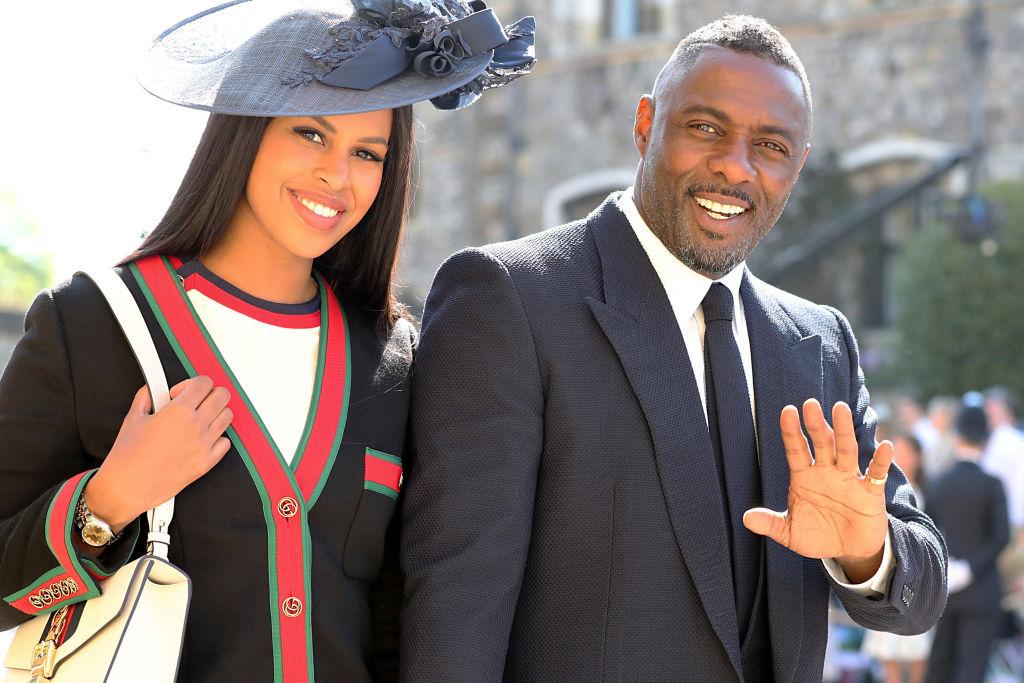 Идрис Эльба с невестой