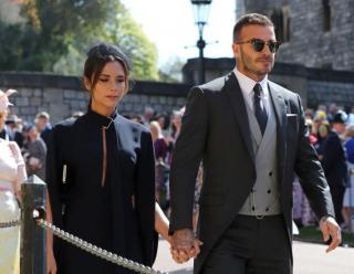 Дэвид Бекхэм нарушил правила на свадьбе Меган Маркл и принца Гарри