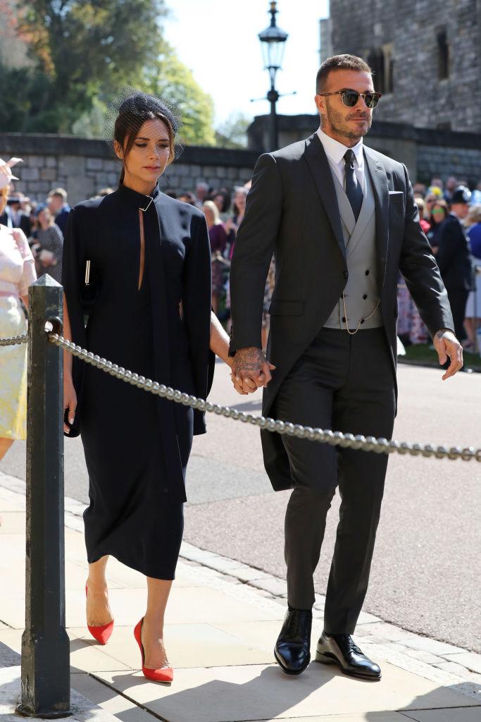 Дэвид Бекхэм нарушил правила на свадьбе Меган Маркл и принца Гарри-Фото 1
