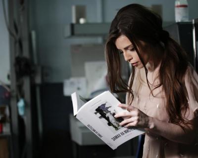 Христина Соловий рассказала о любви к чтению и книгах ArtHuss-430x480