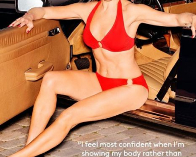 52-летняя Брук Шилдс в рекламе купальников-430x480