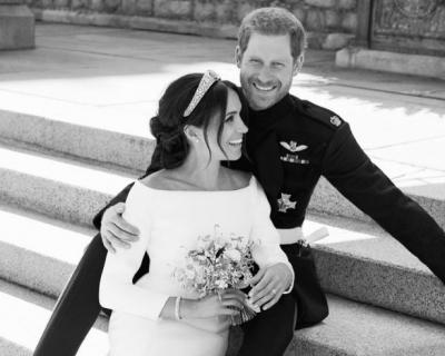 Свадебный фотограф Меган Маркл и принца Гарри рассказал, что осталось за кадром-430x480