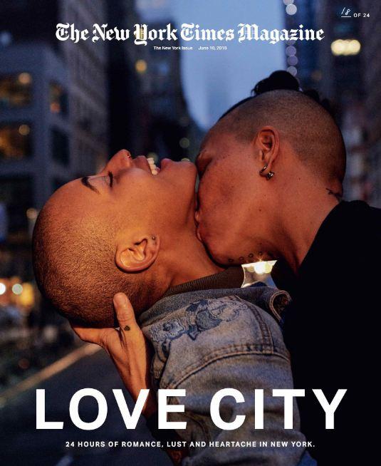 24 поцелуя за 24 часа: Невероятный фотопроект в Нью-Йорке-Фото 14
