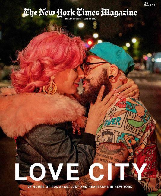 24 поцелуя за 24 часа: Невероятный фотопроект в Нью-Йорке-Фото 11