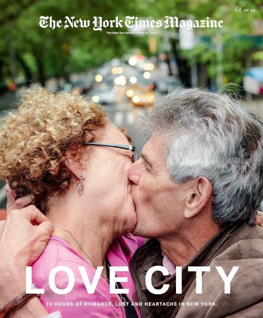24 поцелуя за 24 часа: Невероятный фотопроект в Нью-Йорке-Фото 10