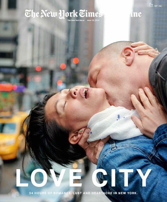 24 поцелуя за 24 часа: Невероятный фотопроект в Нью-Йорке-Фото 8