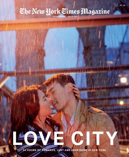 24 поцелуя за 24 часа: Невероятный фотопроект в Нью-Йорке-Фото 7