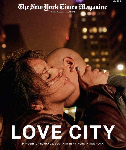 24 поцелуя за 24 часа: Невероятный фотопроект в Нью-Йорке-Фото 22