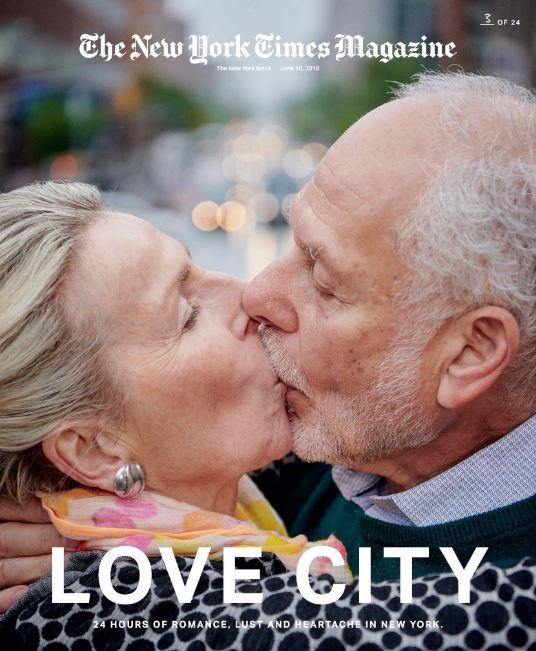 24 поцелуя за 24 часа: Невероятный фотопроект в Нью-Йорке-Фото 5