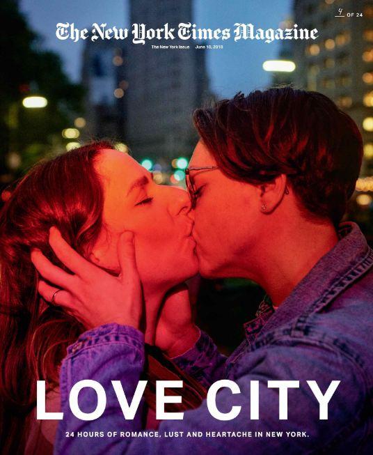 24 поцелуя за 24 часа: Невероятный фотопроект в Нью-Йорке-Фото 4