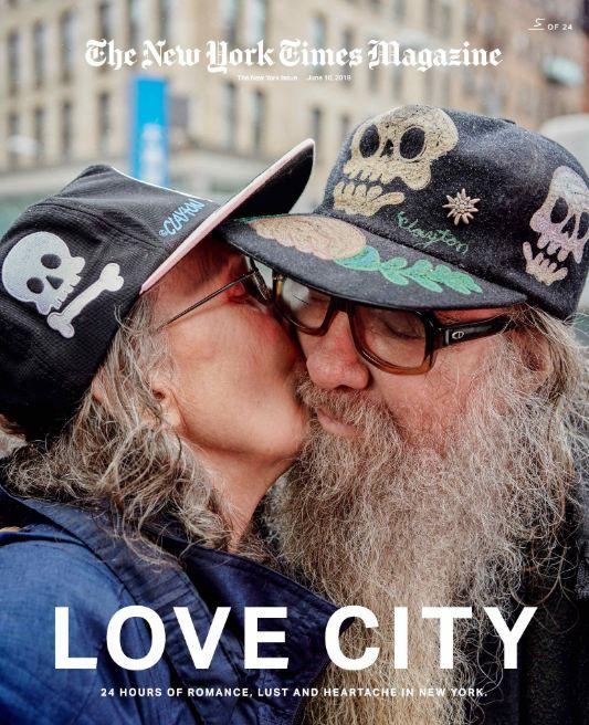 24 поцелуя за 24 часа: Невероятный фотопроект в Нью-Йорке-Фото 3
