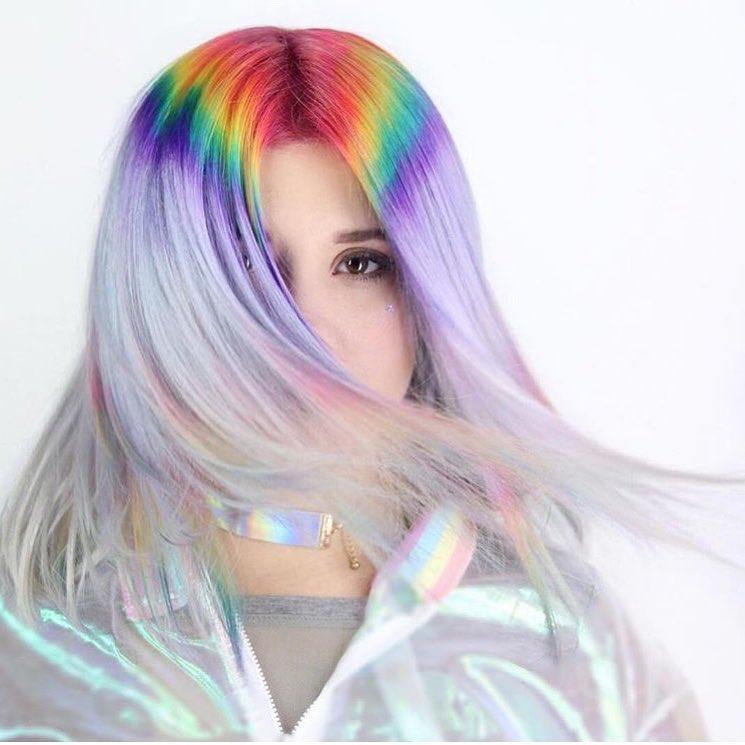 модный цвет волос 2018 фото