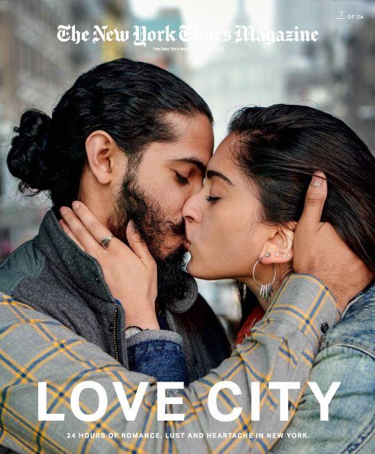 24 поцелуя за 24 часа: Невероятный фотопроект в Нью-Йорке-Фото 1