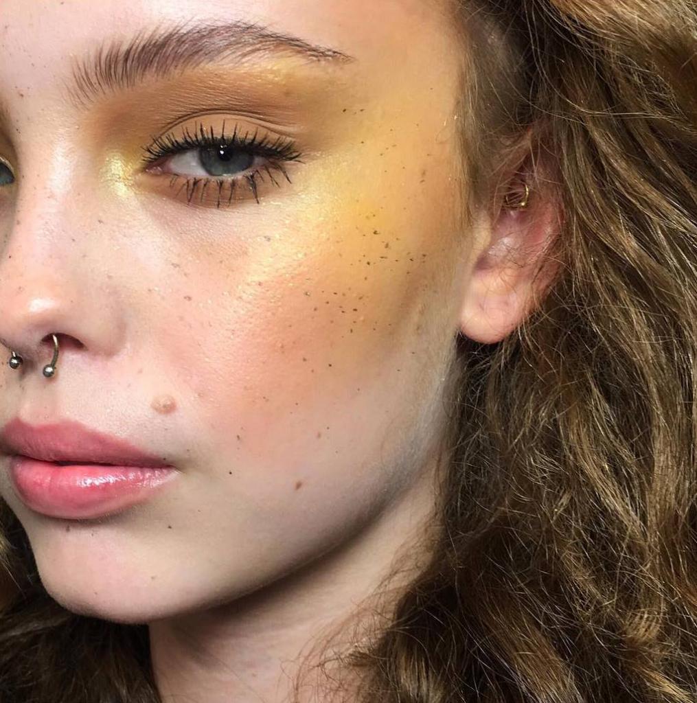 тренды 2018 макияж фото