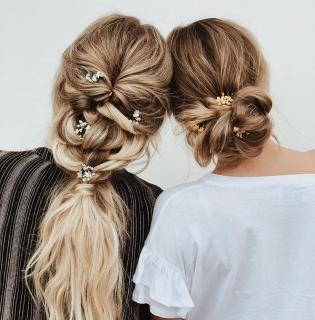 Красивые прически с косами и плетениями