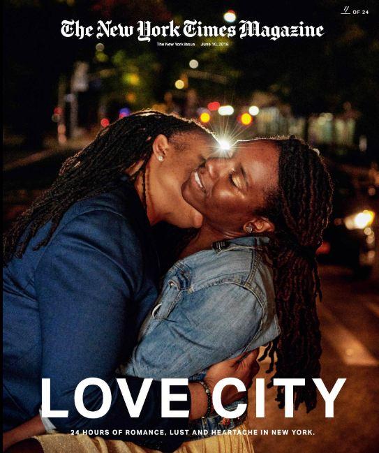 24 поцелуя за 24 часа: Невероятный фотопроект в Нью-Йорке-Фото 21
