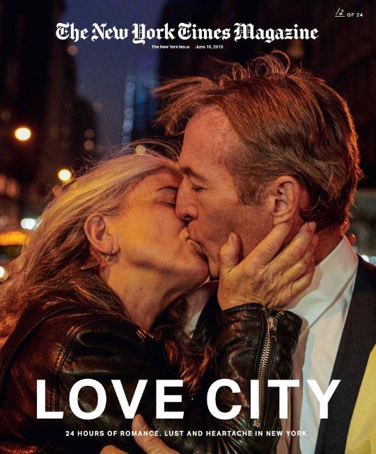 24 поцелуя за 24 часа: Невероятный фотопроект в Нью-Йорке-Фото 20