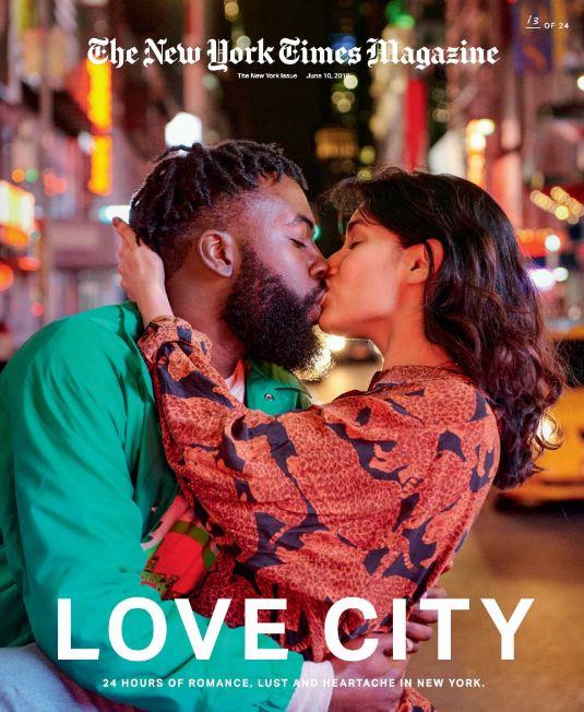 24 поцелуя за 24 часа: Невероятный фотопроект в Нью-Йорке-Фото 19