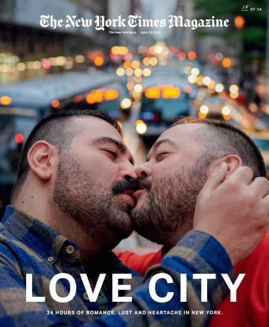 24 поцелуя за 24 часа: Невероятный фотопроект в Нью-Йорке-Фото 17