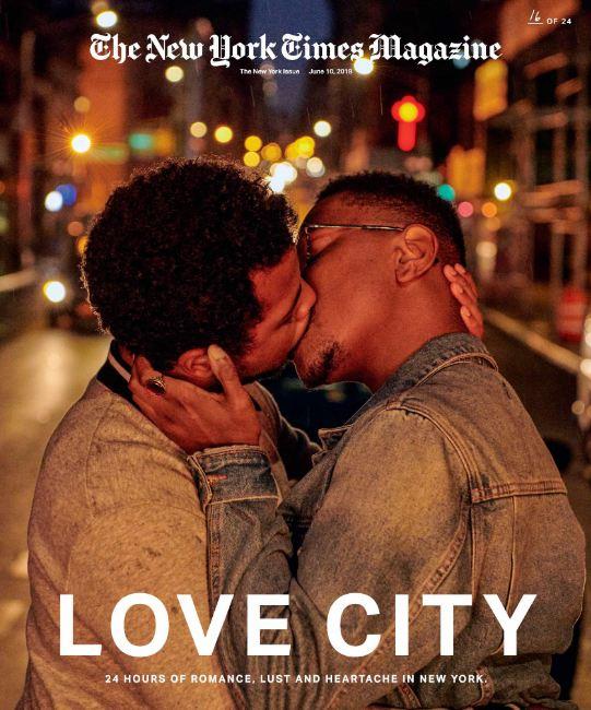 24 поцелуя за 24 часа: Невероятный фотопроект в Нью-Йорке-Фото 16