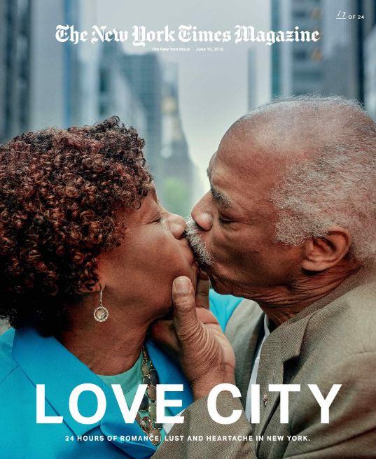 24 поцелуя за 24 часа: Невероятный фотопроект в Нью-Йорке-Фото 15