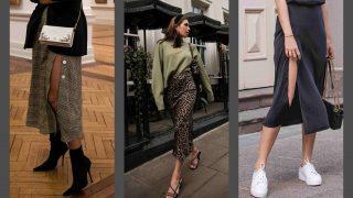 Как носить юбку-миди: 10 идей из Instagram-320x180