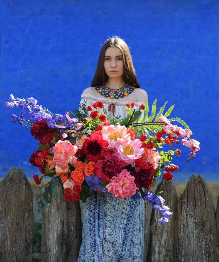Летняя коллекция букетов Goddesses by LoraShen-Фото 5