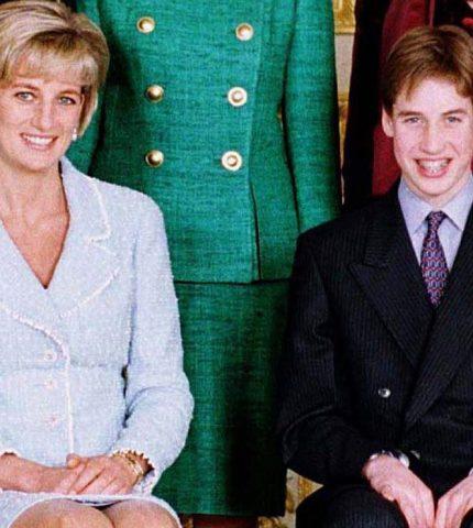 Что принцесса Диана подарила принцу Уильяму на 13-летие-430x480
