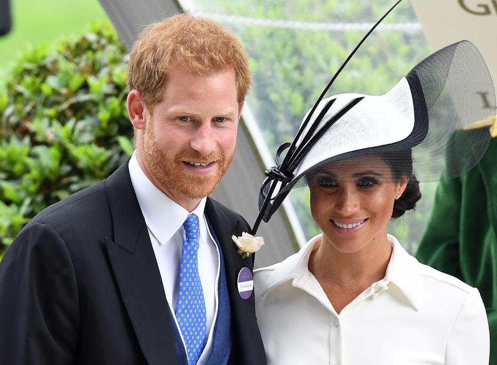 Меган Маркл и принц Гарри посетили скачки Royal Ascot-Фото 1