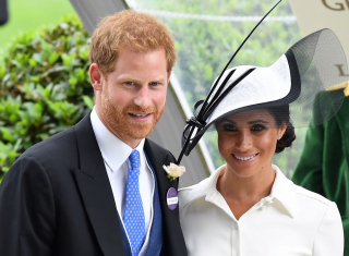Меган Маркл и принц Гарри посетили скачки Royal Ascot