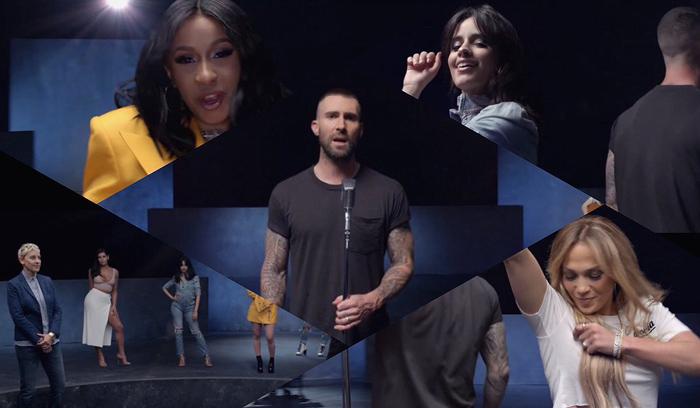 Новый клип Maroon 5 с Галь Гадот и Дженнифер Лопес-320x180