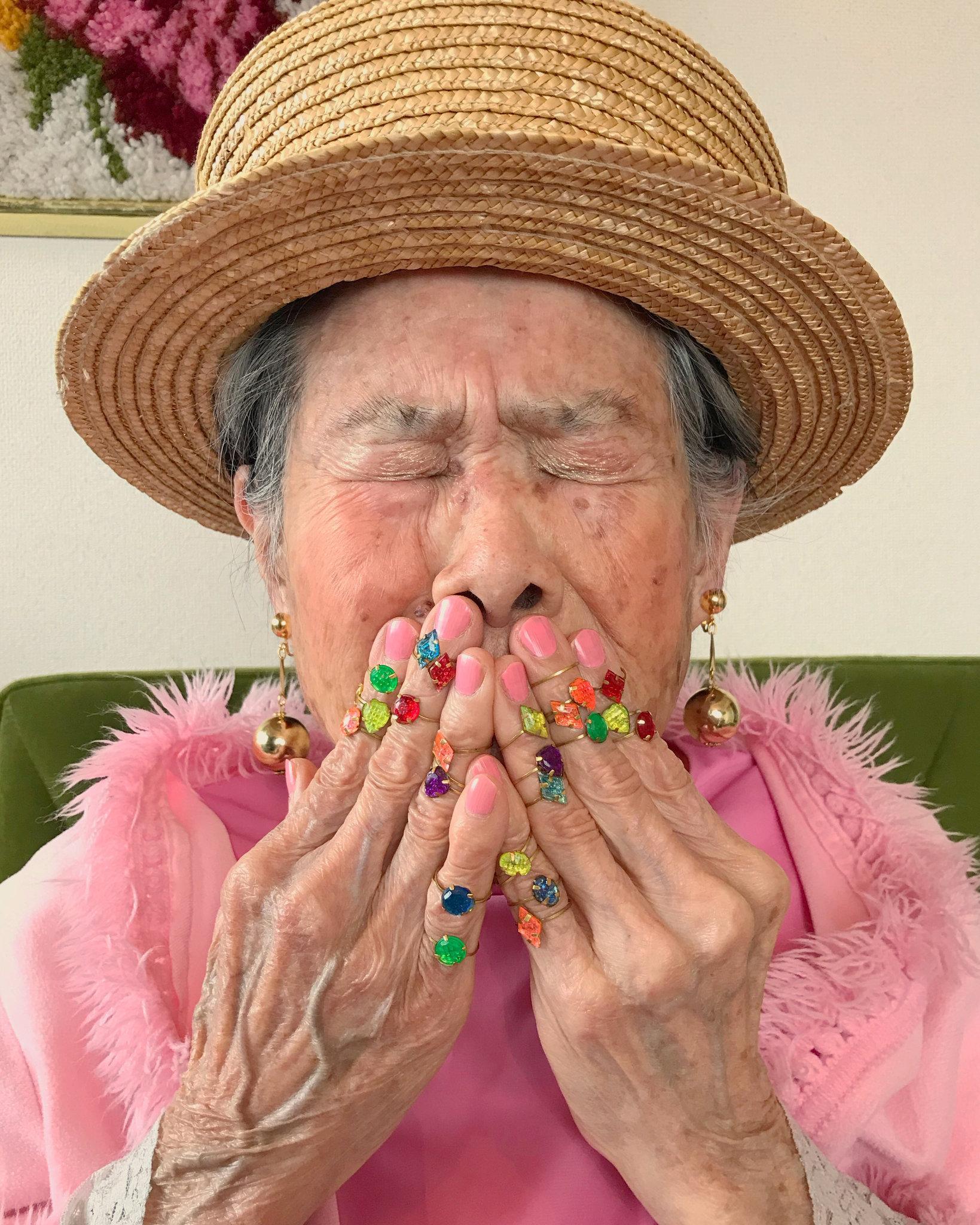 На кого подписаться: гламурные бабушки из Instagram-Фото 4