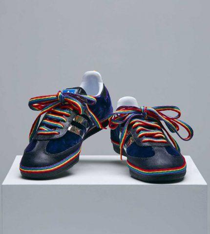 Наоми Кэмпбелл и Кейт Мосс стали дизайнерами кроссовок Adidas-430x480