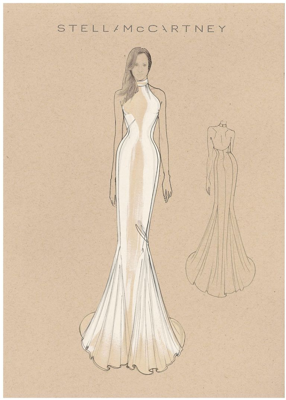 Стелла Маккартни выпустила коллекцию «копий» свадебного платья Меган Маркл-Фото 2